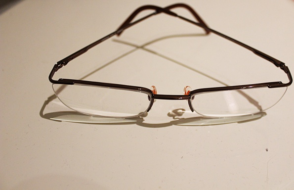 Thin glasses frame
