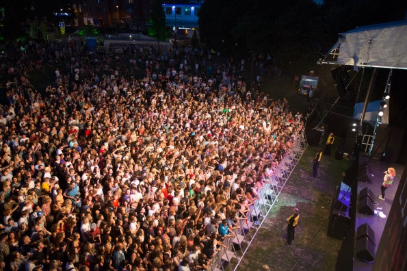 Katy B - Main Stage - Tramlines 2014